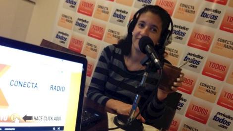 Maria de Lujan Nistal, Locutora, Periodista y compañera de equipo en #ElEditor