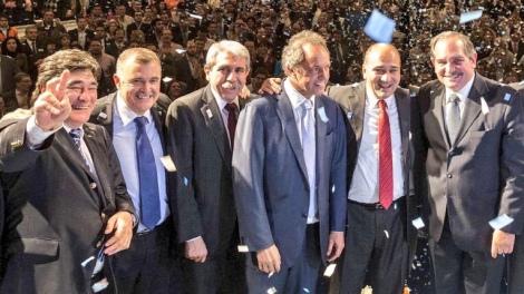 """Scioli y sus """"amigos"""""""