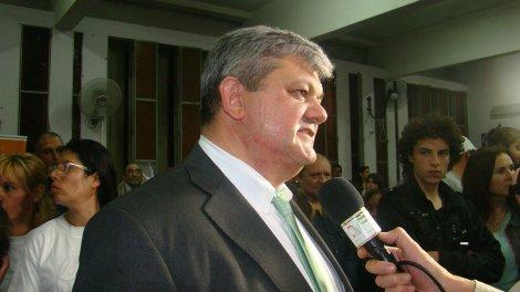 Alberto Ricci, electo intendente de Villa Gobernador Galvez
