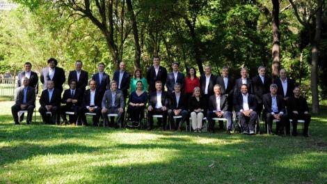 Macri y sus Ministros