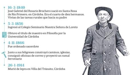 El Cura Brochero, el primer santo 100% argentino.